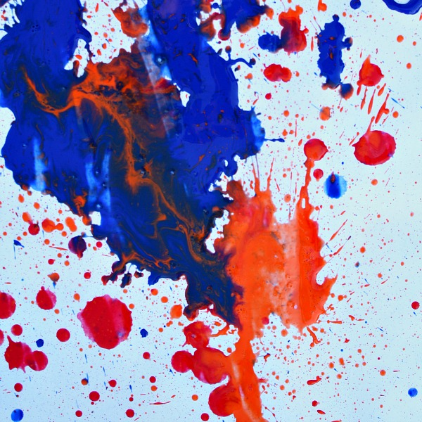 Paint with Water Shooters--Kid art