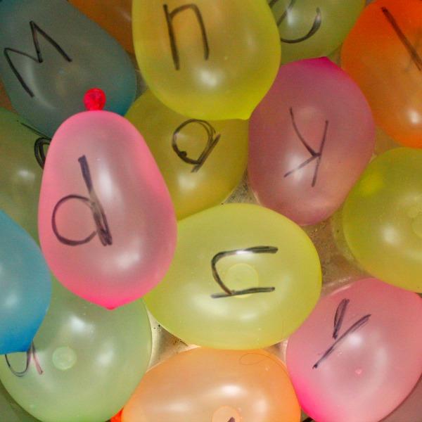 Water balloon abc