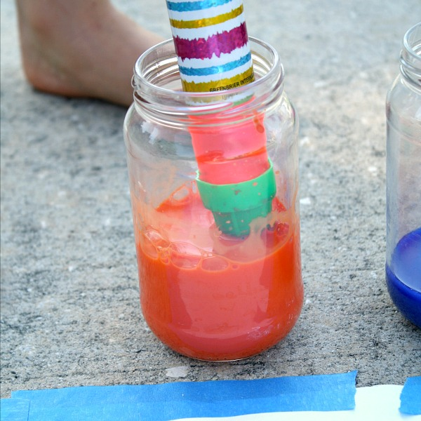 Ways to Paint~Filling water shooter with paint