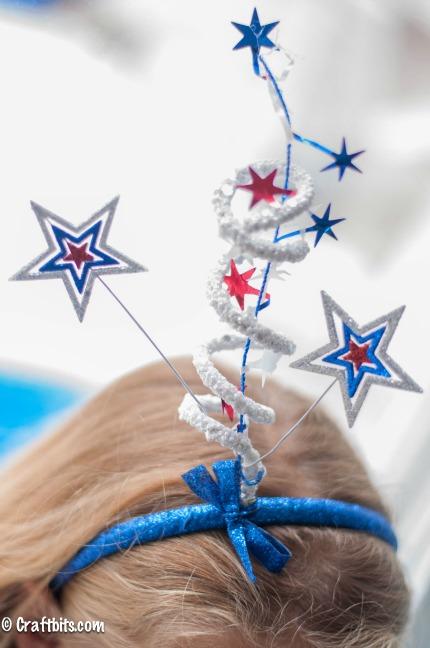 Fireworks Headband from CraftBits