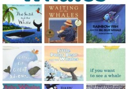 Books About Whales~Fiction and nonfiction books about whales for young kids