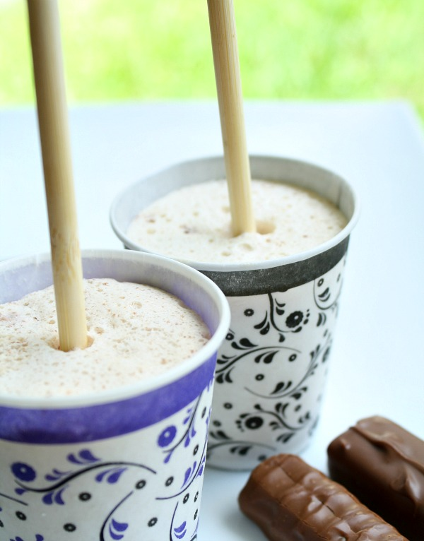 Candy Bar Popsicle Recipe