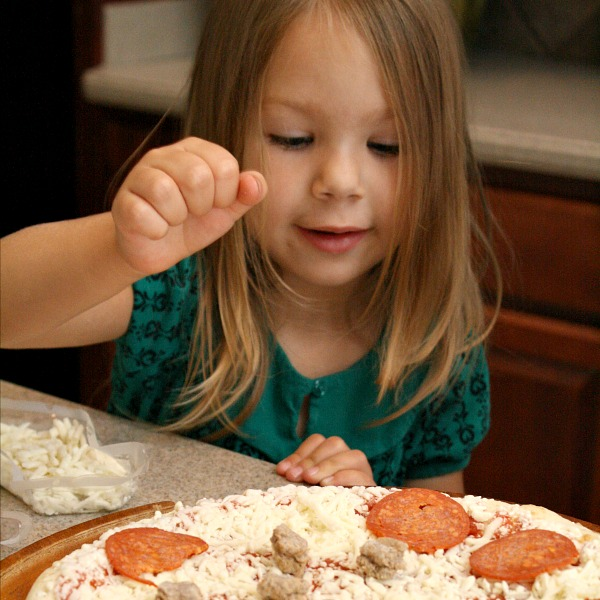 Counting Pizza Game for Kids