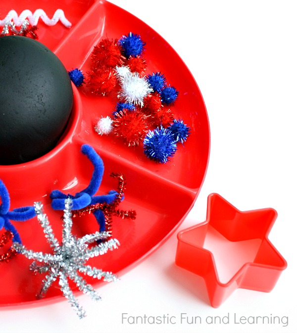 Fireworks Play Dough by Fantastic Fun and Learning