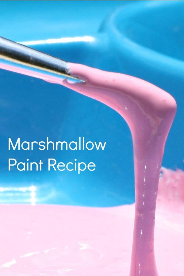 Marshmallow Paint Recipe