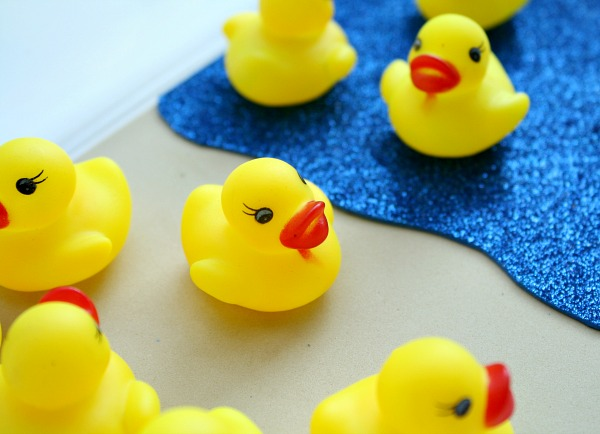 Math Activity to go with Ten Little Rubber Ducks by Eric Carle