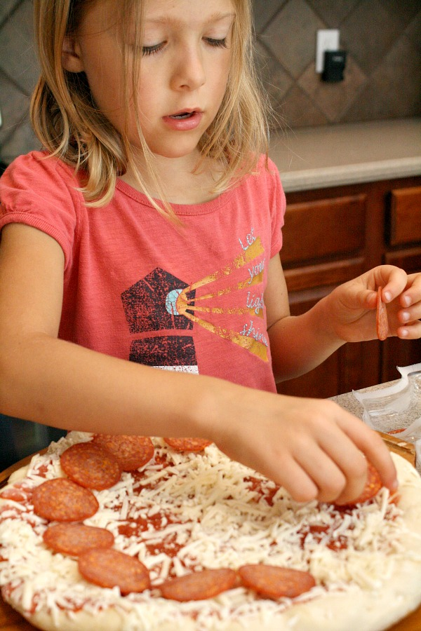 Pizza Art~Cooking with Kids