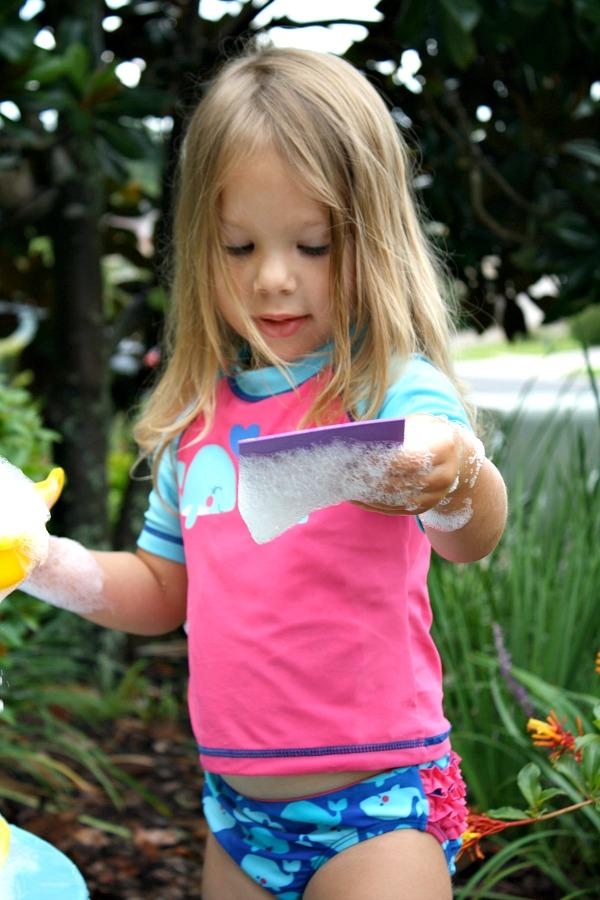Preschool Shape Activity for Outdoor Play
