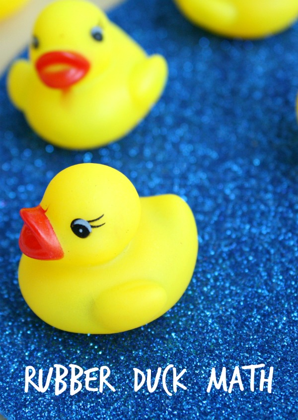 Rubber Duck Math Game~Activity to go along with Ten Little Rubber Ducks by Eric Carle