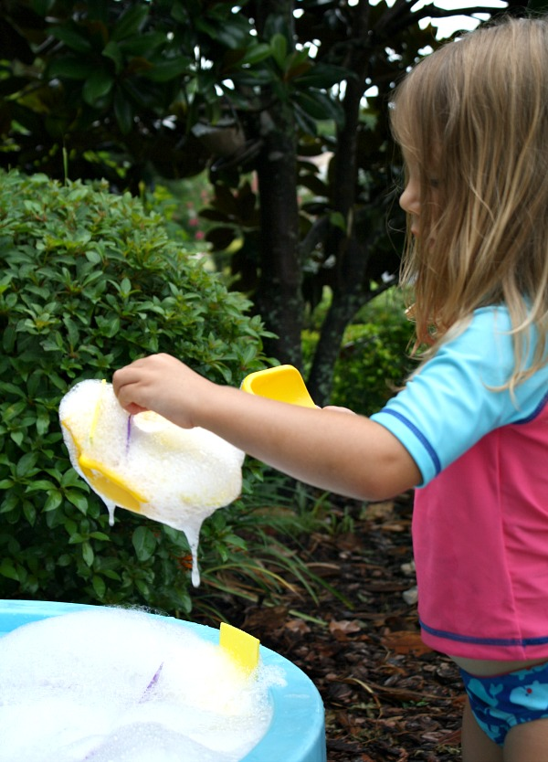 Scooping for Shapes Summer Activity