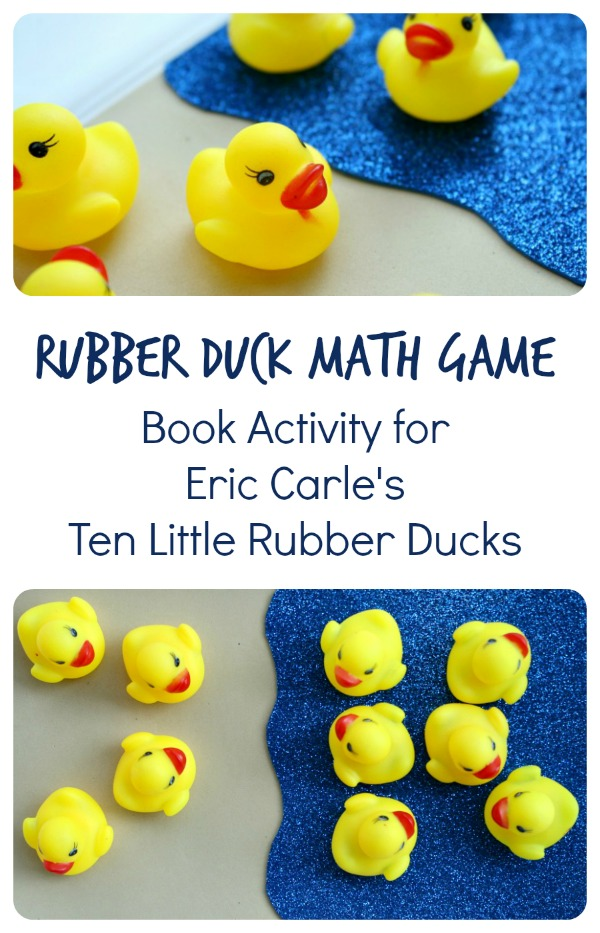 Ten Little Rubber Ducks Book Activity~Rubber Duck Math