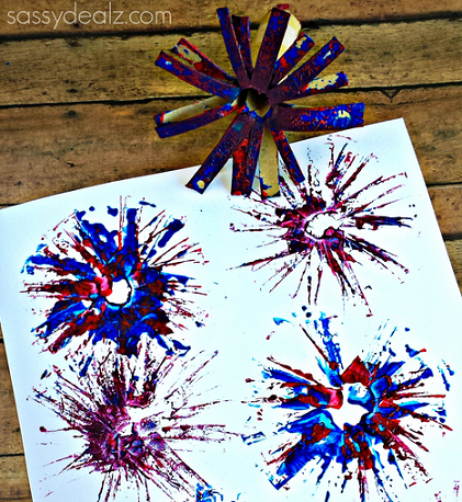Fireworks Activity Craft