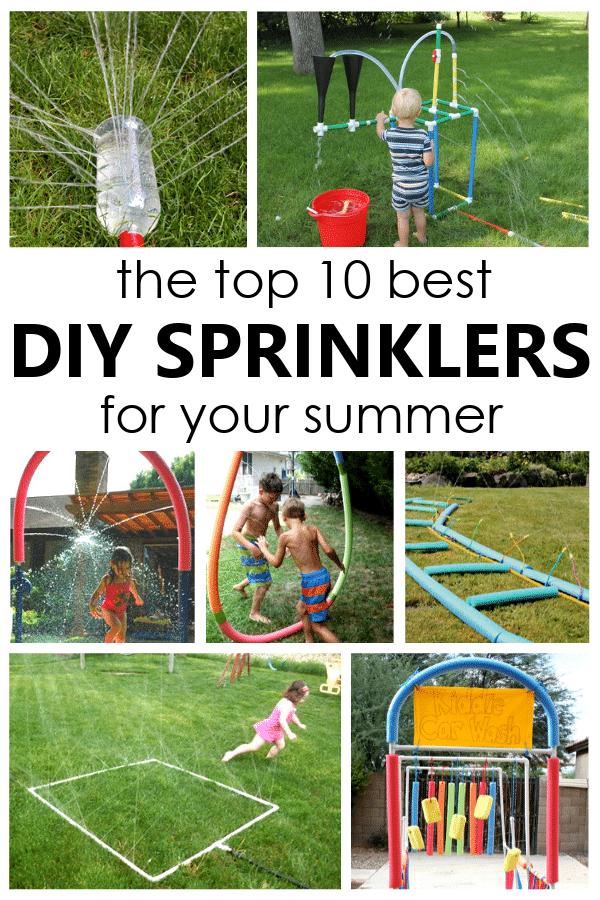10 Best DIY Sprinklers for Kids