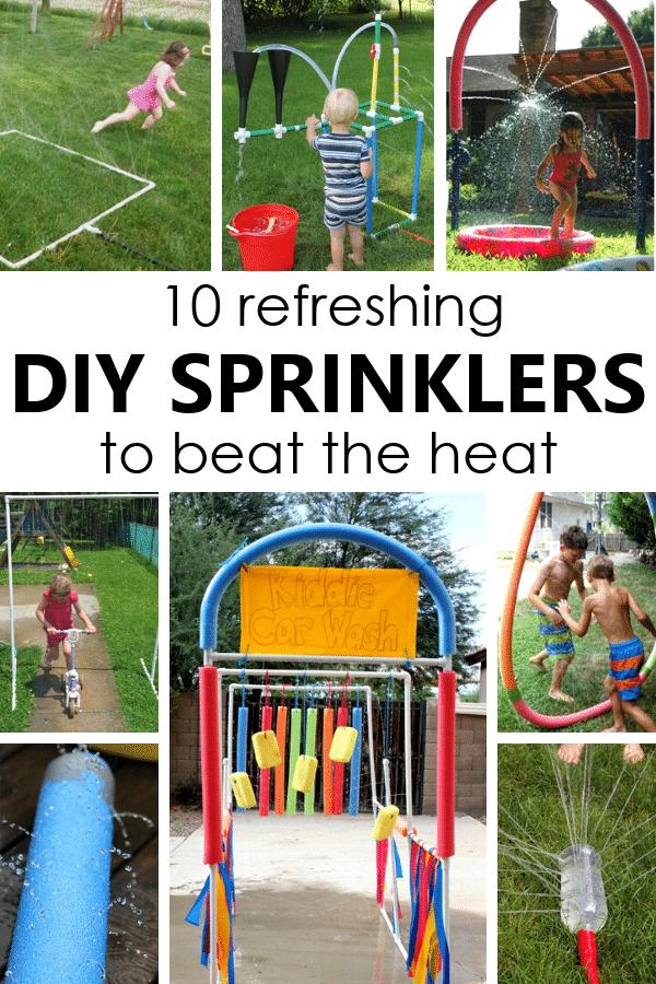 10 Refreshing DIY Sprinklers for Kids