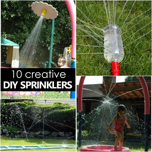 Diy Sprinklers For Kids Fantastic Fun Amp Learning