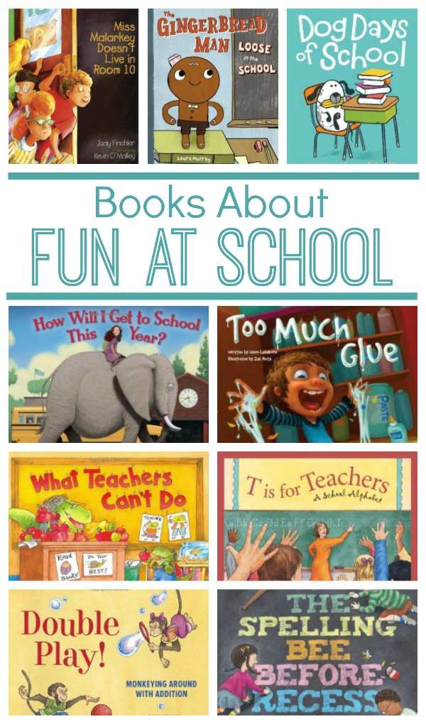 School Books About Teachers, Recess, the Bus and More