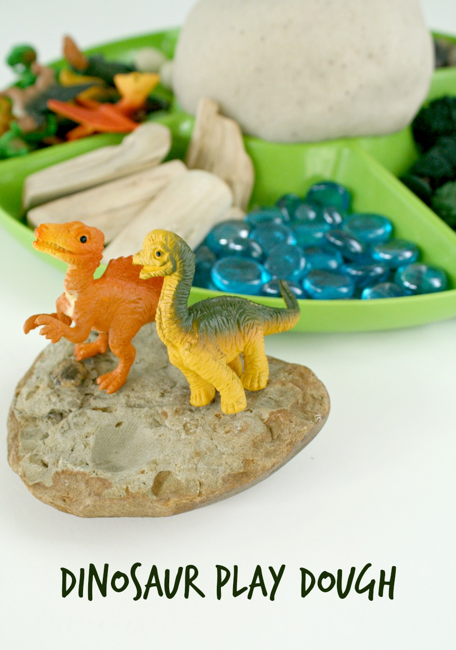 Dinosaur Play Dough