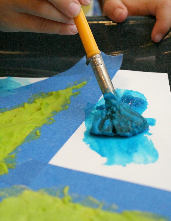 Fizzing Watercolor Art for Kids