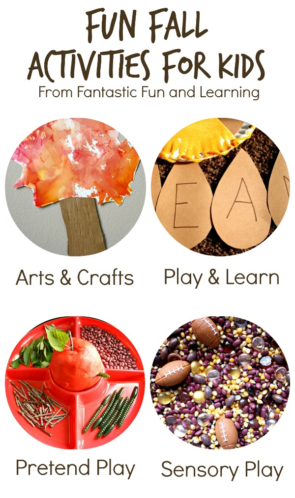 Fall Activities For Kids Fantastic Fun Learning