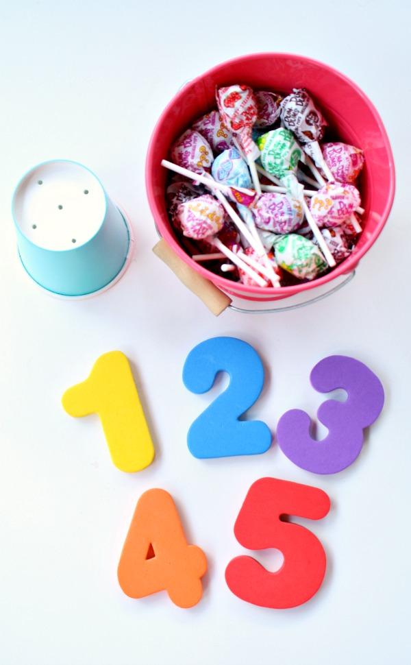 Lollipop Math Activities
