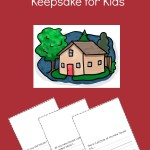 We're Moving! Free Printable Book and Keepsake for Kids