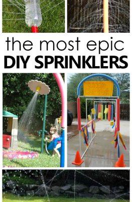 DIY Sprinklers for Kids