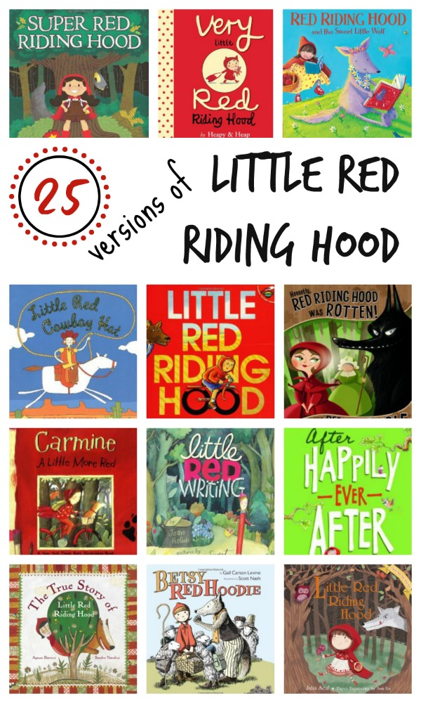 25 Versions of Little Red Riding Hood~Includes the classic story, fun twists, the tale told from the wolf's point of view, and books for older kids