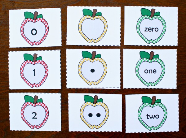 photo regarding Apples to Apples Cards Printable identified as Free of charge Printable Apple Selection Playing cards and Functions - Superior