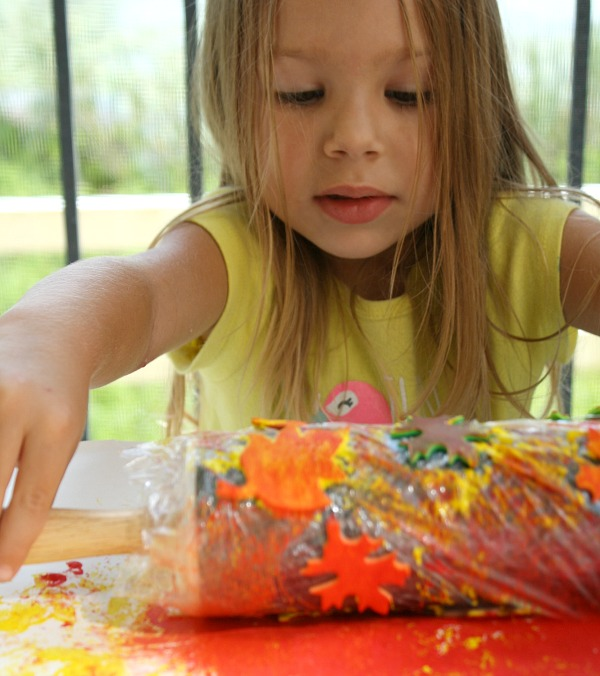 Fall Art Activity for Preschoolers