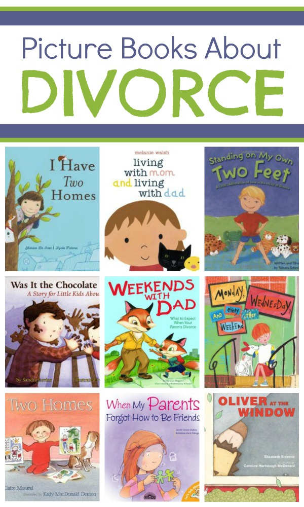 Picture Books About Divorce