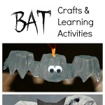 12 Bat Crafts and Learning Activities
