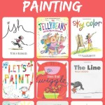 16 Art Picture Books About Drawing and Painting~Click through for the full list and summaries of each book.