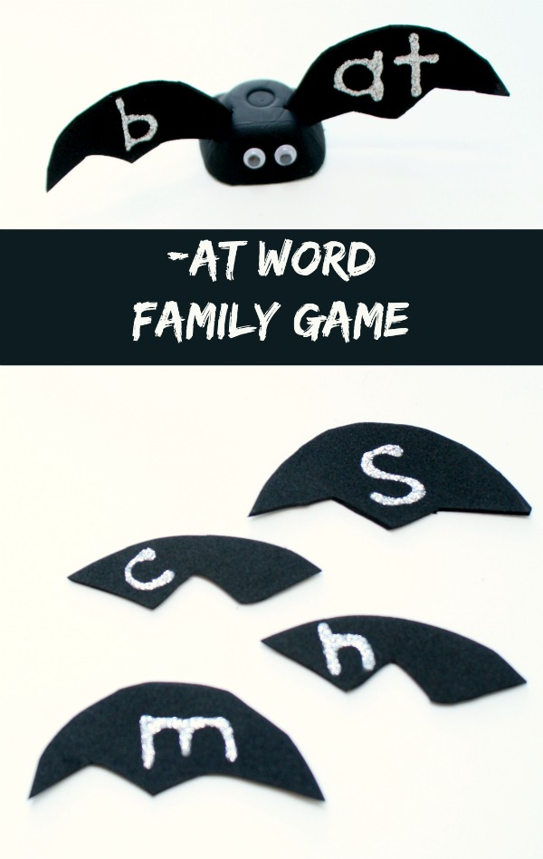-AT Word Family Game for Kids