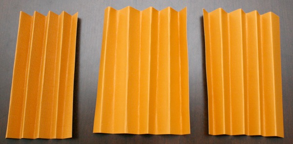 Accordion Fold Paper for Pumpkin Craft