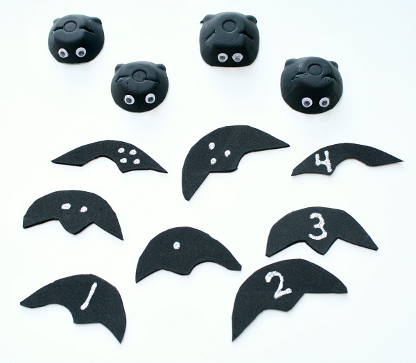 Bat Counting Activity Materials
