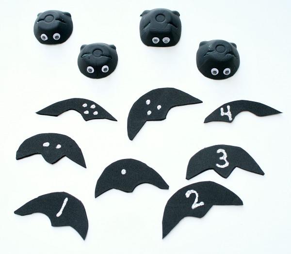 Bat Counting Activity Materials