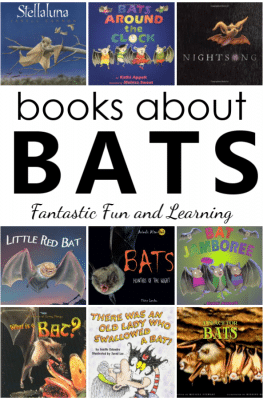 Preschool Bat Theme Book List with Bat Books for Kids