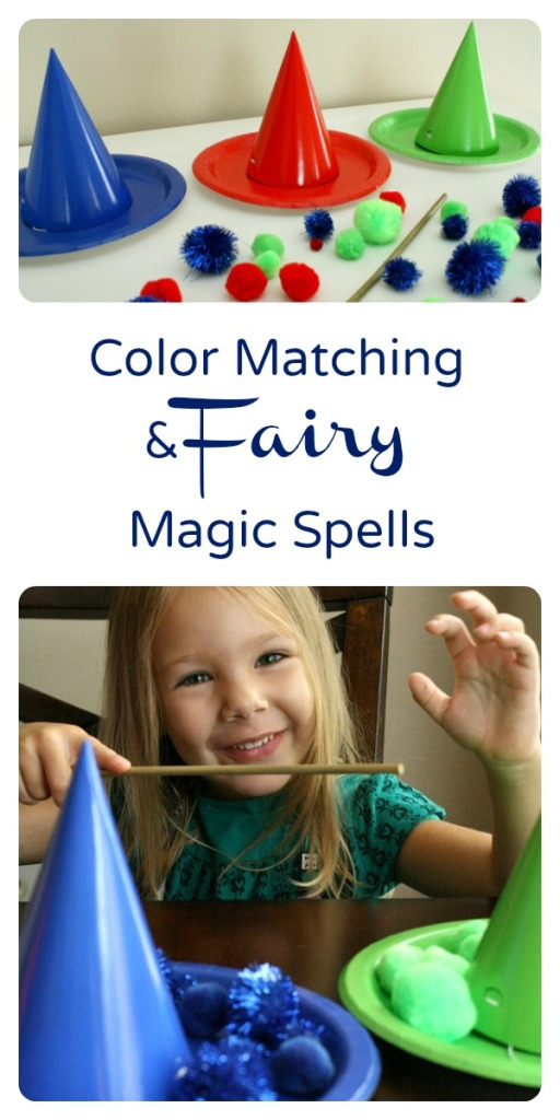 Color Matching and Fairy Magic Spells Activity inspired by Disney's Sleeping Beauty