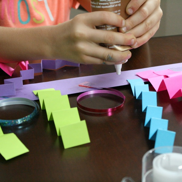 Creating monster headband