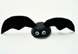 Egg Carton Bat Craft for Kids
