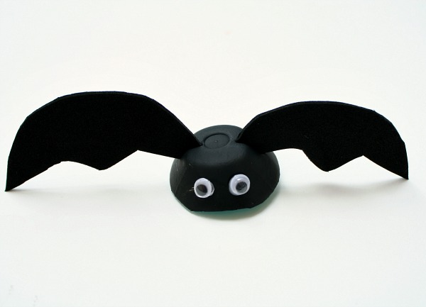 Egg Carton Bat Craft for Kids