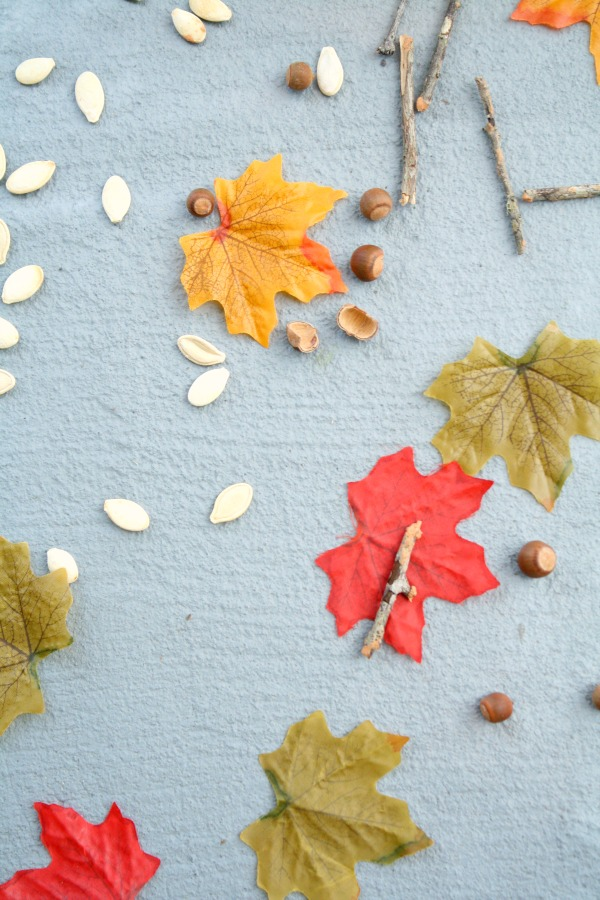 Falling Leaf Open-Ended Art for Toddlers and Preschoolers