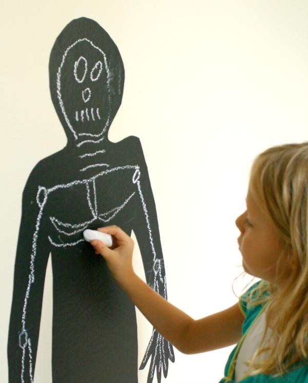 Halloween Art-Skeleton