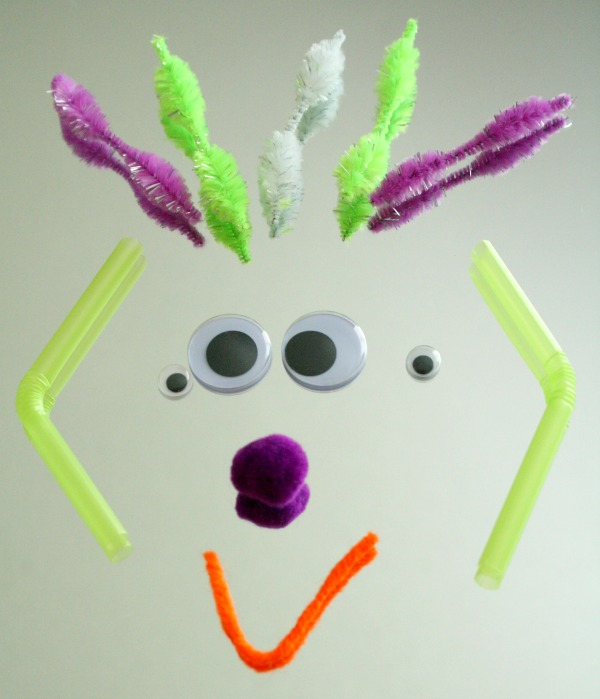 Loose Parts Monster Face