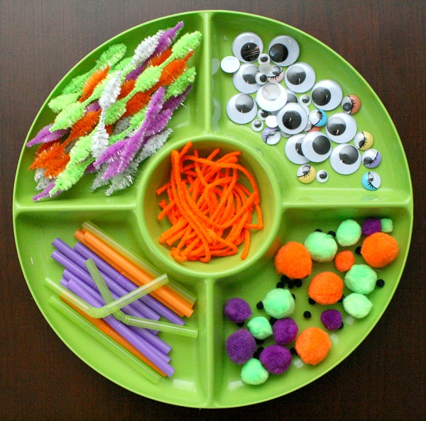Monster Faces Tray Materials