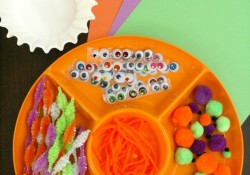 Monster Craft Creative Art Activity