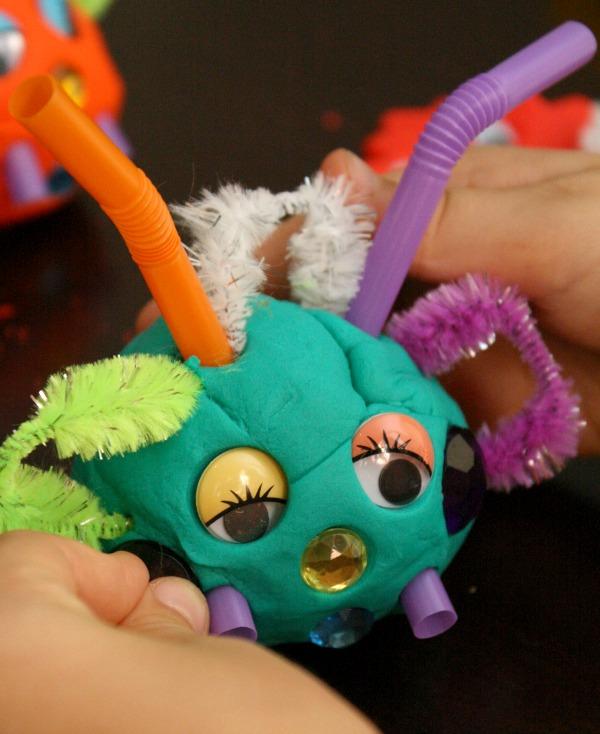 Play Dough Monster
