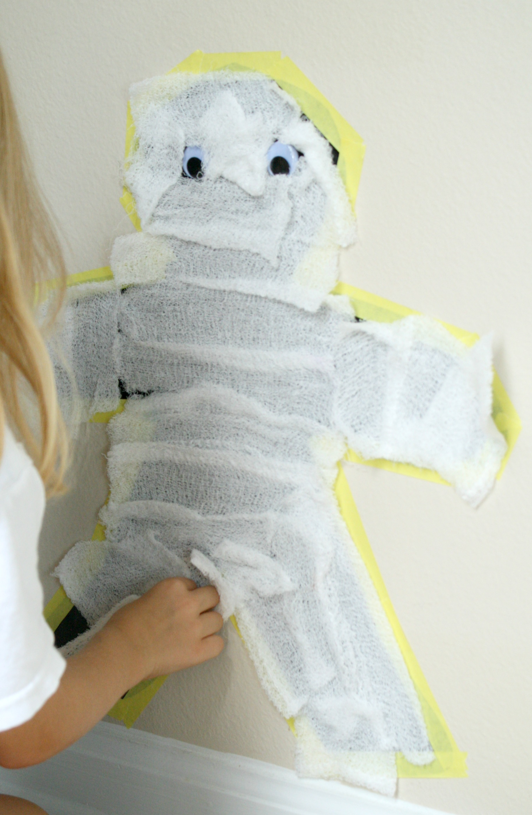 Preschool Mummy Activity