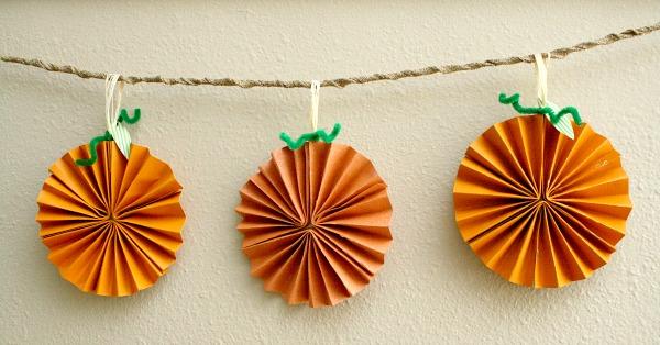 Pumpkin Vine Craft Fall Decoration