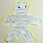 Sticky Wall Mummy Activity